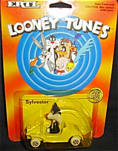 1989 Ertl Looney Tunes Sylvester Die-cast Car