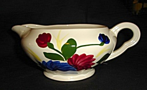 Blue Ridge Chrysanthemum Gravy Boat