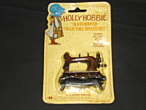 Holly Hobbie Die Cast Miniature