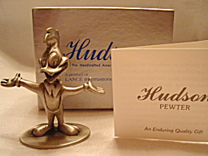 Hudson Pewter Woody Woodpecker