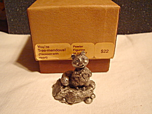 Hallmark Little Gallery Raccoon Figurine