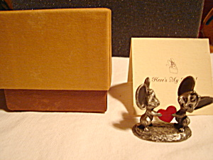 Hallmark Little Gallery Mice Pewter Figurine