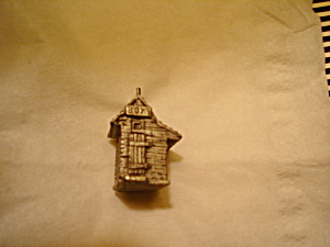 Boyd Perry Outhouse Pewter Figurine