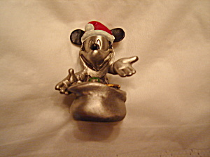 Hudson Disney Mickey Mouse Pewter Figurine