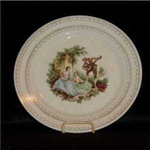 American Limoges Serenade Dinner Plate