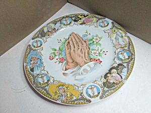 Vintage Original Artmark Praying Hands Plate