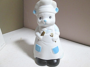 Vintage Artmart Mouse Chef Collector's Bell
