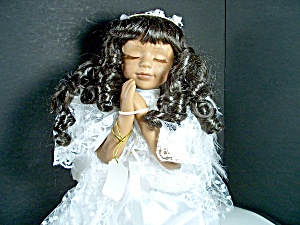 Bisque Praying Porcelain Doll Ashley Belle 1