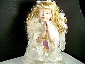 Bisque Praying Porcelain Doll Ashley Belle 3