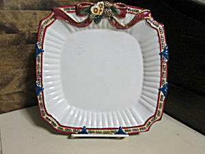 Bella Casa Decorative Christmas Gift Plate