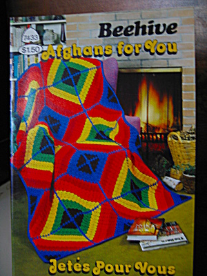 Beehive Afghans For You Booklet #7433