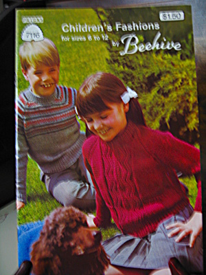 Beehive Children's Fashions By Beehive Booklet #7116