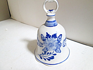 Vintage Dutch Holland Delft Blue Liberty Bell