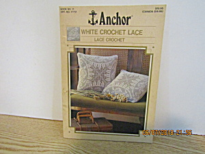 Anchor White Crochet Lace Book Lace Crochet #11