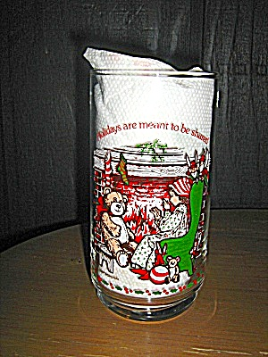 Holly Hobbie Glass Holidays Are Meant To Be Shared