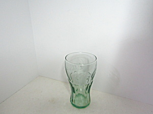 Vintage Coca-cola Small Juice Green Glass