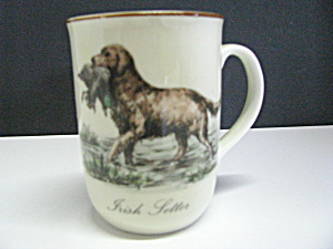 Collecible Irish Setter Coffee Cup