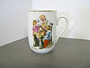 Norman Rockwell Classic Mug The Toymaker