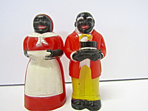 Vintage Aunt Jemima & Uncle Mose Salt & Pepper Shaker