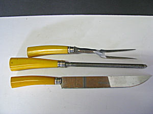 Vintage Carving Set Knife&fork