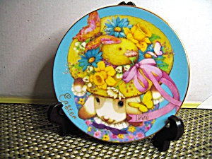 Avon My Easter Bonnet 1995 Easter Plate