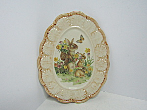 Cracker Barrow Easter Traditionssmall Oval Platter