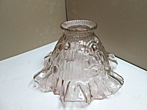 Vintage Fenton Cabbage Rose Fairy Lamp Shade