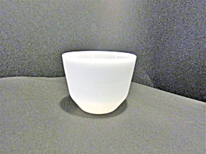 Federal Glass Heavy White Custard Bowl