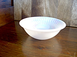 Vintage Federal Glass Moonglow Dessert/fruit Bowl