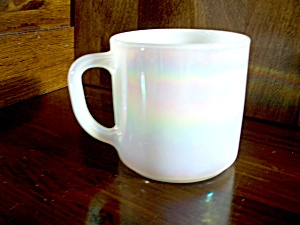 Vintage Federal Glass Moonglow Coffee Cup