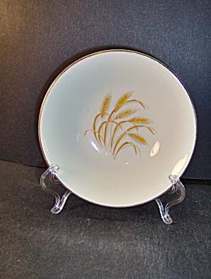 Vintage Homer Laughlin Golden Wheat Soup Bowl