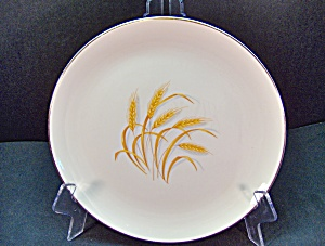 Vintage Homer Laughlin Golden Wheat Bread/ Butter Plate