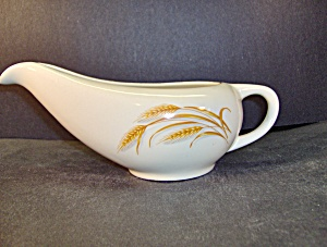 Vintage Homer Laughlin Golden Wheat Gravy Boat Only