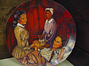 Gone With The Wind Plate Melanie Giving Birth