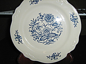 Homer Laughlin Imperial Blue Dinner Plate