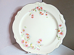 Vintage Homer Laughlin Virgina Rose Dinner Plate