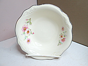 Vintage China Homer Laughlin Virgina Rose Sauce Dish