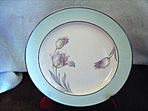 Homer Laughlin Wells Tulip Dinner Plate