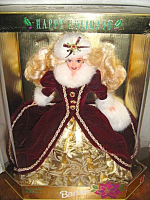 Special Edition 1996 Happy Holiday Barbie