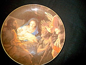Inspirational Plate Mary And Christ Child
