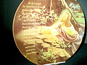 Inspirational Plate The Lord's Prayer