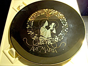 Ave Marie 2000 Commemorative Plate