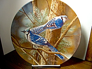 Knowles Birds Of Your Garden Plate The Blue Jay