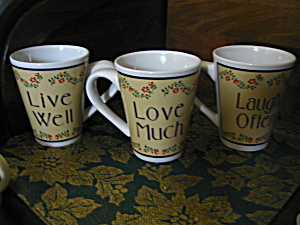 Love Much/laugh Often/live Well Coffee Mugs