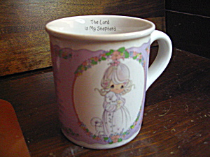 Precious Moments The Lord Is My Shepherd Mug