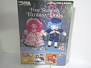 Leisure Arts Four Seasons Fantasy Dolls #1024