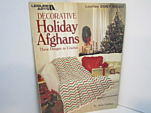 Leisure Arts Decorative Holiday Afghans #2067