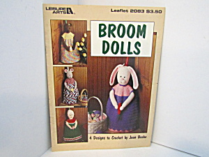 Leisure Arts Broom Dolls To Crochet #2083