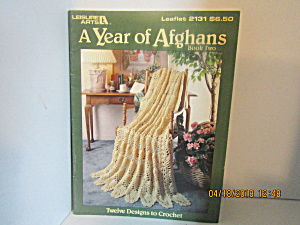 Leisure Arts A Year Of Afghans Book Two #2131