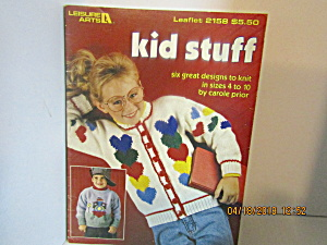 Leisure Arts Kids Stuff To Knit #2158